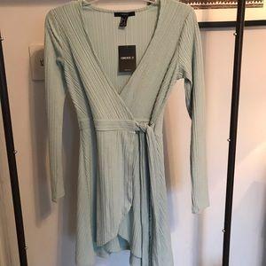 Dresses & Skirts - Blue wrap dress